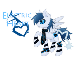 Electric pony adopt by MakePastaNot-War