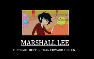 Marshall Lee Demotivational Poster by thekirbykrisis