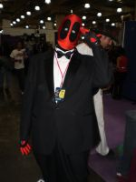 Deadpool In a Tux by pikaman206