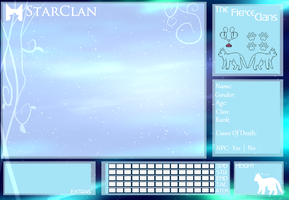 The Fierce Clans - StarClan Application by MadiLoves