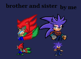 The brother and the sister by FutureJohn-X