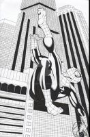 Spider-Man Inks 2014 by RadPencils