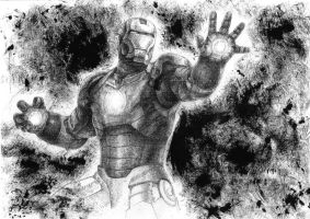 Iron Man by GabrielleGrotte