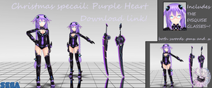 Christmas special - YYB Purple Heart + Sword [DL] by solar13