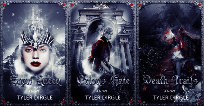 Snow Queen - Crions Gate - Death Trails Book Cover by Abbysidian