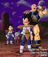Dragonball Tarble and Gure by Nostal