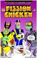 Fission Chicken 5 Cover by jpmorgan