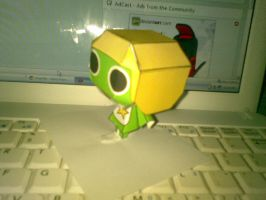 keroro papercraft by Grim-paper