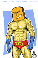 Powdered Toast Man - JAN 2013 Art Jam by JeremiahLambertArt