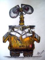 Wall E coloured version by boy140495