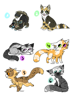 Mixed Adopts : Name your price - CLOSED by SpottedpeIt