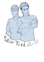 Look foward to the Star Trek Into Darkness... by cielo0903