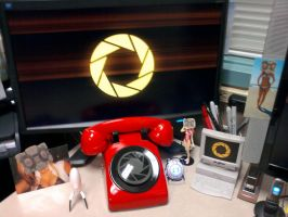 Some more of the Aperture Science Red Phone by ChrisInVT