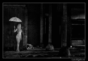 Nude and the Umbrella... by catchlightsnl