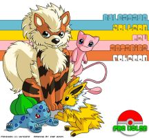 Christmas Gift No.4 - Pokemon by zarry