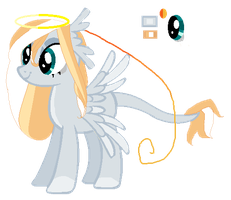 MLP:FIM OC : Soulful Angel by Towa-towathepony