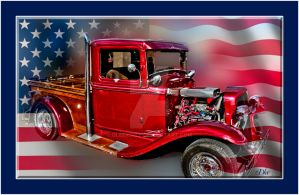 America's finest Red Truck by DleeKirby
