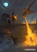 Chasing the Dragon by ArtDeepMind