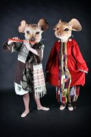 Mice costumes by Osanpo
