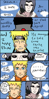 Itachi and Naruto Talk about Sasuke short comic by Fran48