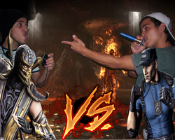 Mortal vs Matador by sidneymadmax