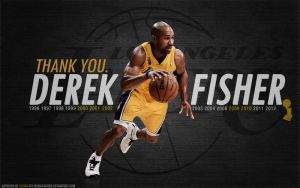 Thank You! Derek Fisher Wallpaper by lisong24kobe