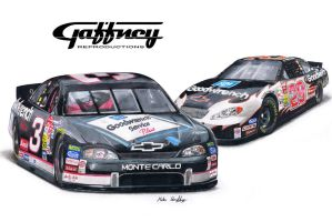 Colored Pencil Nascar by theGaffney