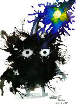 Inky Rock Pikmin by Porinu