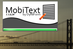 MobiText Splash Screen by x360live