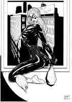 05 - Black Cat b by amorimcomicart