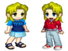 AlxWinry Twins- Trisha and Sarah Elric by peppermix14