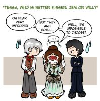The Infernal Devices - Questions and responds 1 by Felwyn