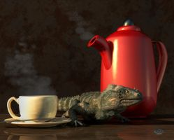 Iguana Coffee by deskridge