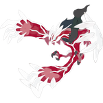 Shiny Yveltal (Official Artwork Recolor) by CosmoArceus777