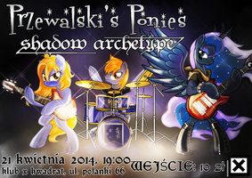 Tribrony official concert poster by Ruhisu