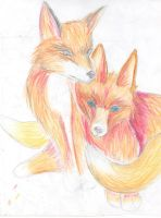 Fox by wildfireangle
