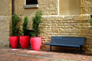 Red Pots 4437903 by StockProject1