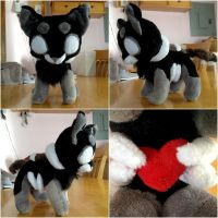 Whisper Plush FOR SALE by FurryiousWolf