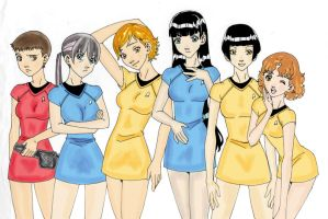 Star Trek Gender Bend Colored by Kimbawest