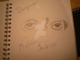 Michael Jackson Sketch 9 by NikkiBarrowman