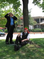 Sanji and Zoro 1 - Otakon 2010 by jacmac
