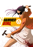 Hammer Girl by adhytcadelic