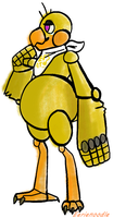 Sad Lil' Chica by eerieN00dle
