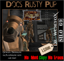 Doc's Rusty Pup by truemouse
