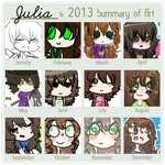 My Art Summary by beaute-de-cascadia