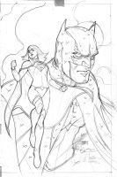 Batman #50 Variant cover pencils by TerryDodson