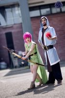Archer and Mage Clash of clans cosplay by ely707