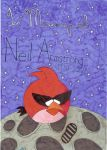 Angry Birds Space: R.I.P Neil Armstrong by LvKO-King