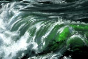 Green wave 2 hours by Indu-Art