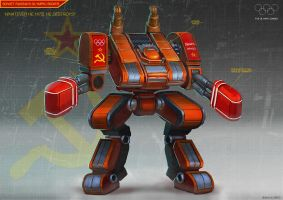 Soviet Olympic Boxing Robot by Magnum117